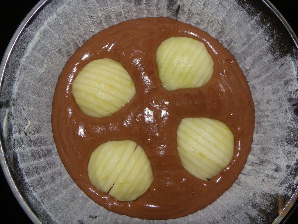 Fondant chocolat poire chataigne