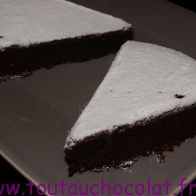 torte au chocolat noir