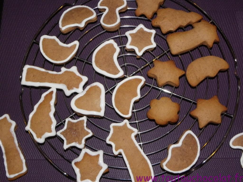 biscuits de noel au pain d'épices