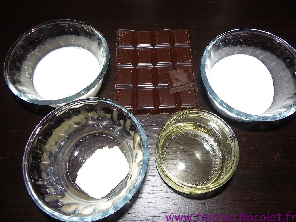 caramels au chocolat noir