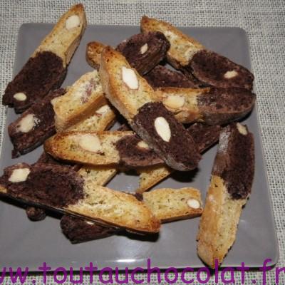 croquants au chocolat et aux amandes