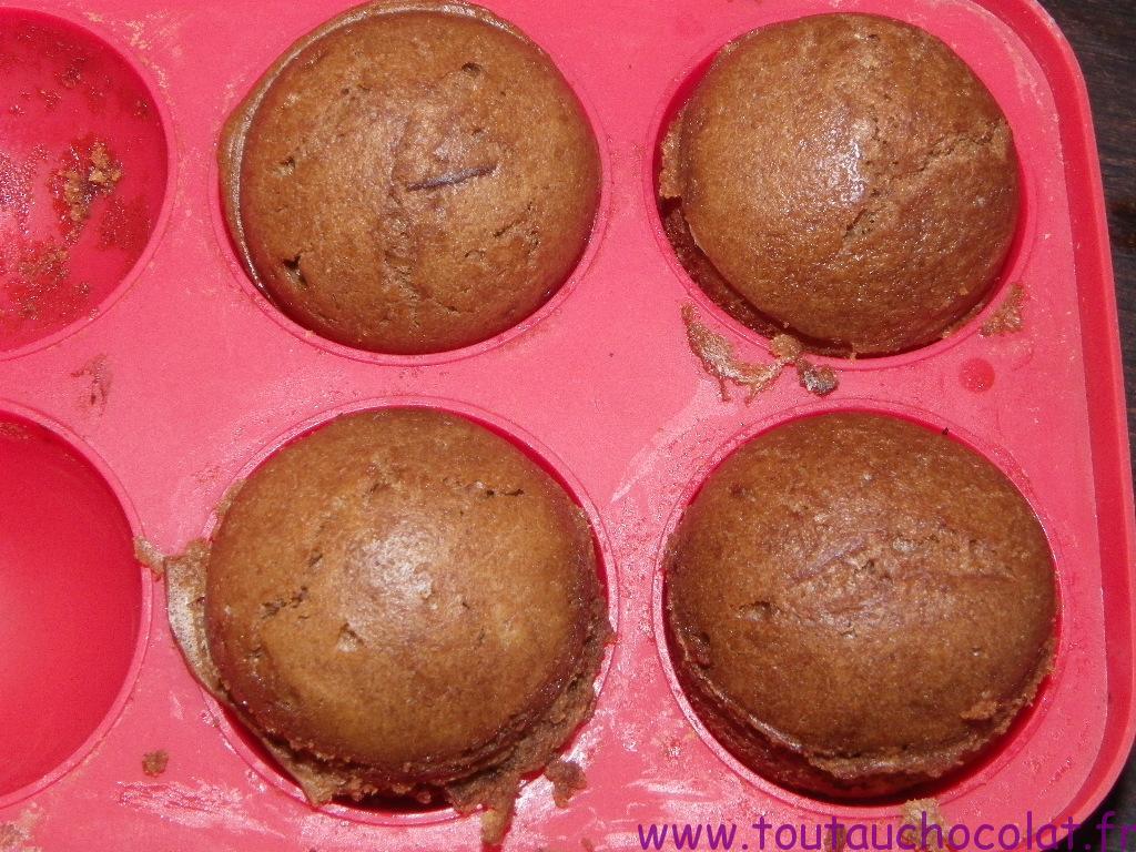 Pop cakes de Noel au chocolat