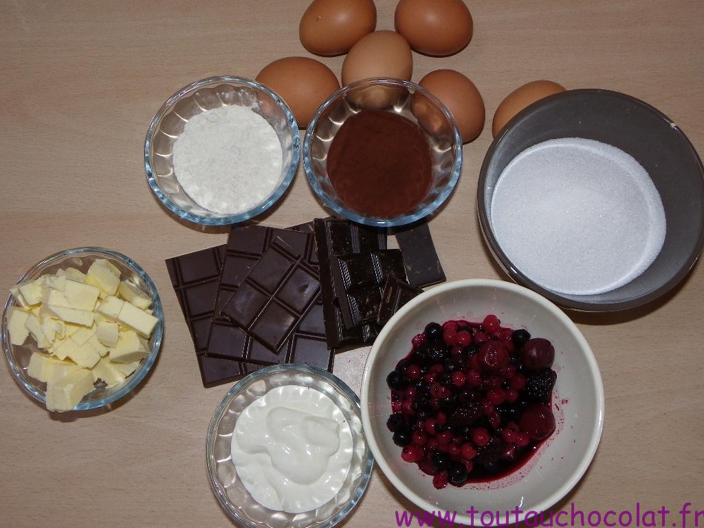 carré moelleux aux chocolats