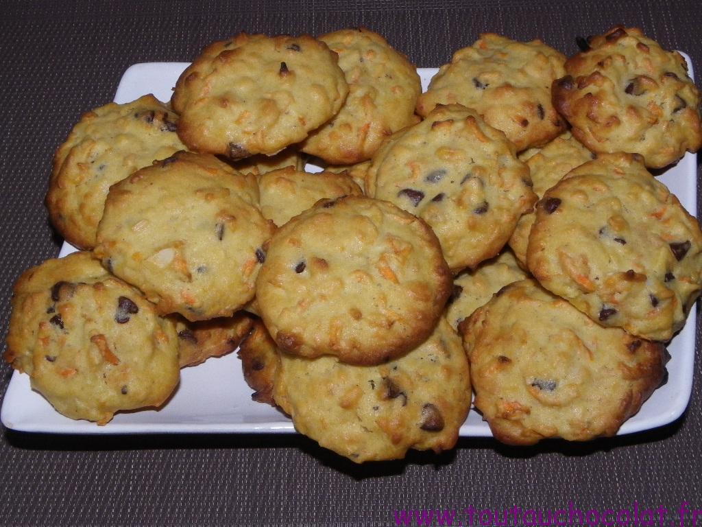 cookies à la carotte