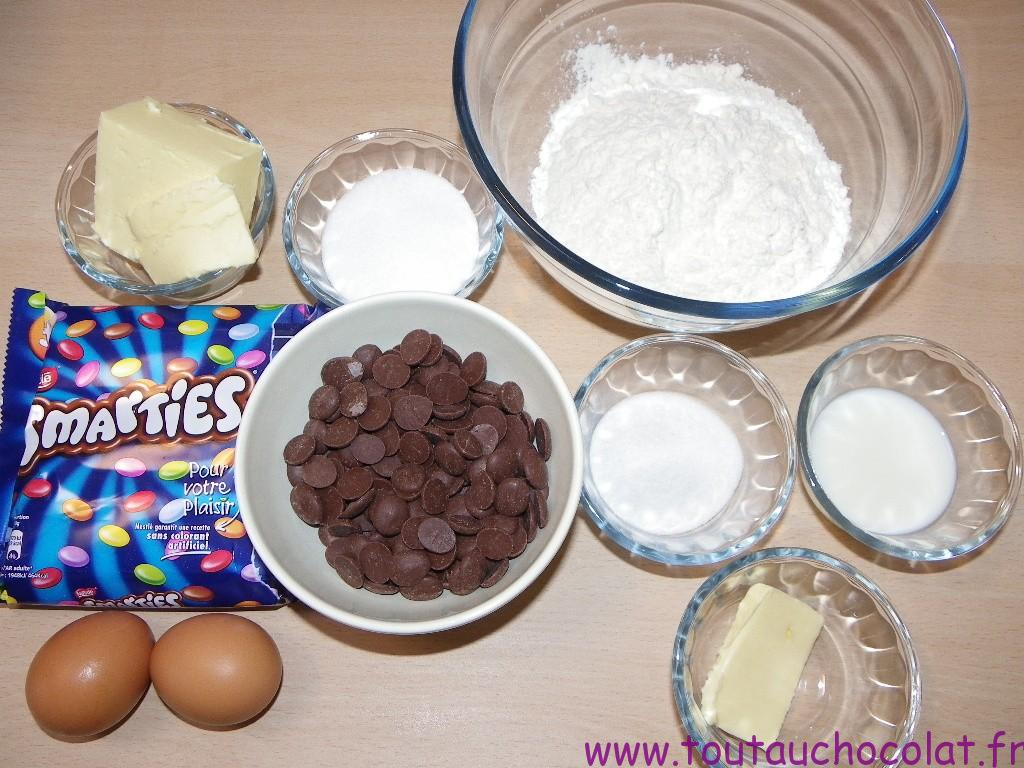 tartines aux smarties