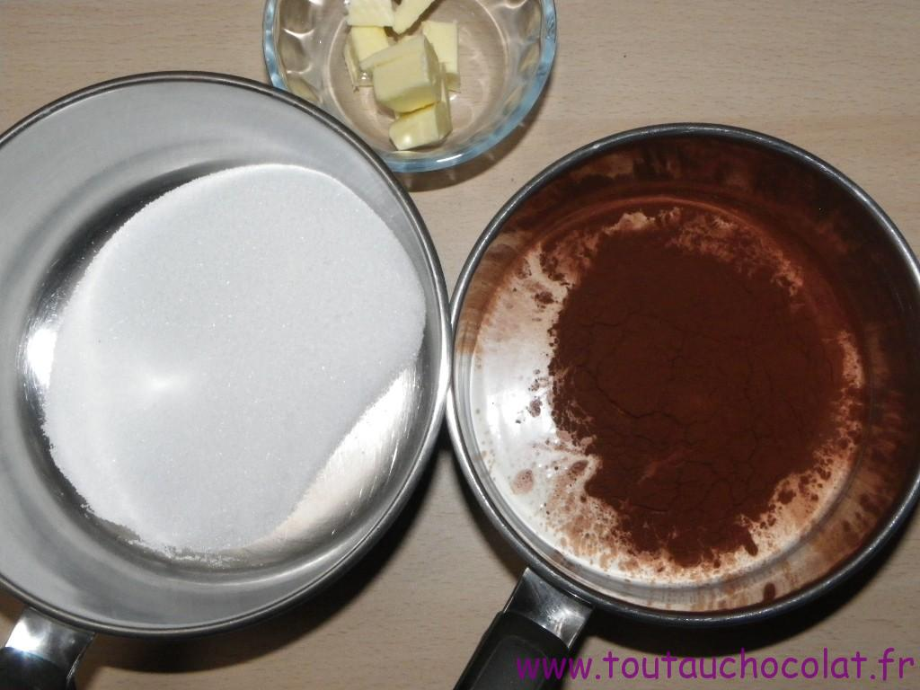 Caramel au beurre salé et au chocolat