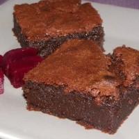 Fondant à la betterave rouge et aux chocolats